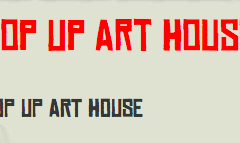 Pop Up Art House / Blaue Frau / 17.5-5.6.2013 / Helsinki